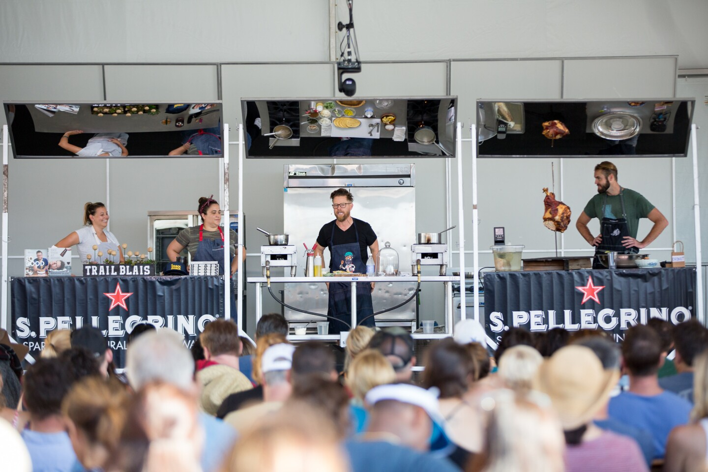 Day 1 of KAABOO Del Mar was filled with the likes of chef Richard Blais on the Palate stage and the festival's first sold-out crowd.