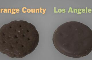 Girl Scout cookies are made by two different bakers