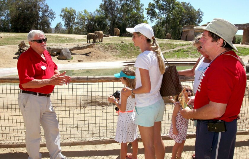 San Diego Zoo Volunteer Racks Up 14 000 Hours In 5 Years The San