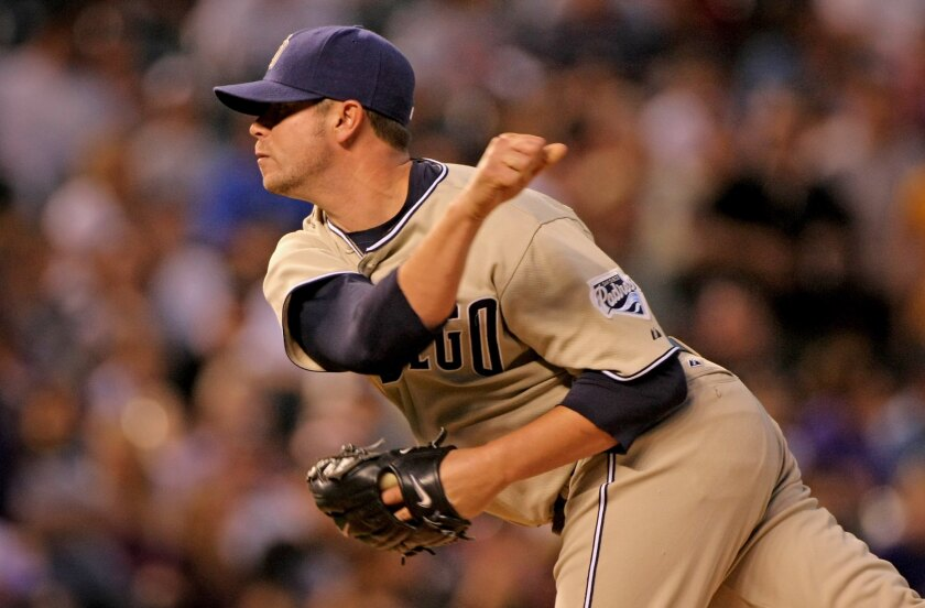 The Padres acquired reliever Cla Meredith from the Red Sox on May 1, 2006, as well as catcher Josh Bard and cash. The Boston Red Sox received catcher Doug Mirabelli in the trade.