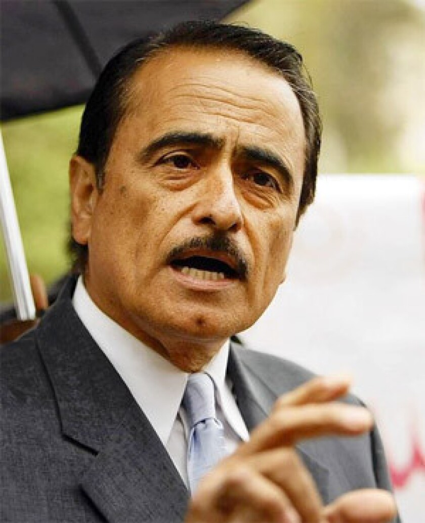 Prosecutors contend that Richard Alarcon and his wife were living outside the 7th District boundaries when he filed candidacy papers in 2006 and 2008 so he could run for the City Council.