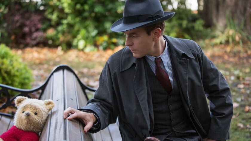 FOR SUMMER 2018 SNEAKS***Christopher Robin (Ewan McGregor) with his longtime friend Winnie the Pooh