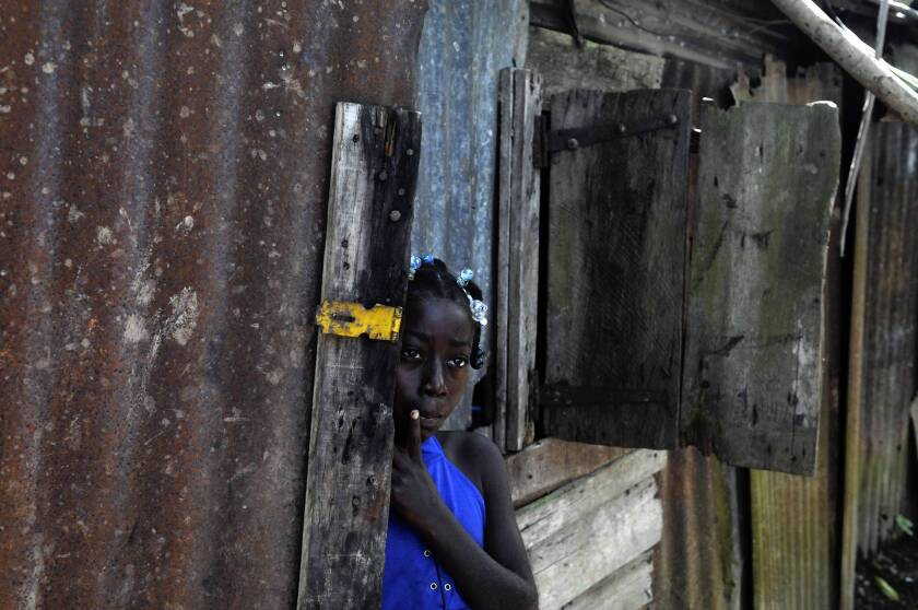 Maria Julia Deguis in Los Jovillos, Dominican Republic. She and other people who were born in the Dominican Republic but of Haitian ancestry could lose their citizenship under a ruling by the Constitutional Court.