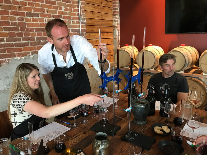 "Bigsbys Folly Craft Winery has a ""Winemaker for a Day"" where you can learn the winemaker's art while blending your own red wine."