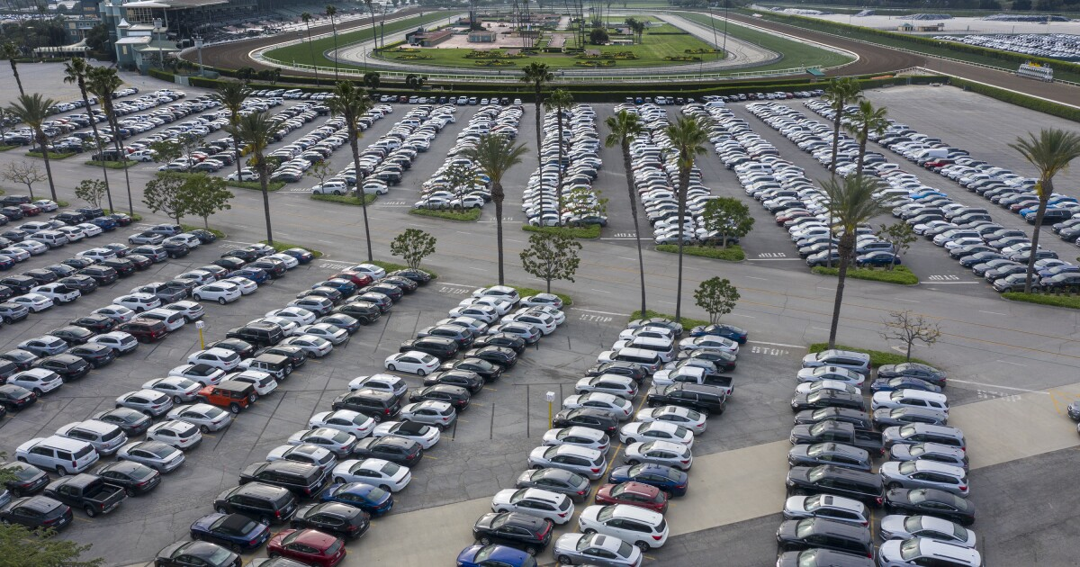 On a trip to visit Disneyland with his children, John Jimenez of San Jose reserved a compact car from Dollar Rent a Car at Los Angeles International A