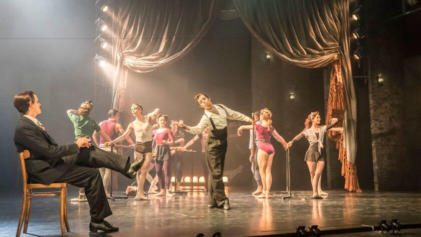 """Matthew Bourne's production of """"The Red Shoes."""""""