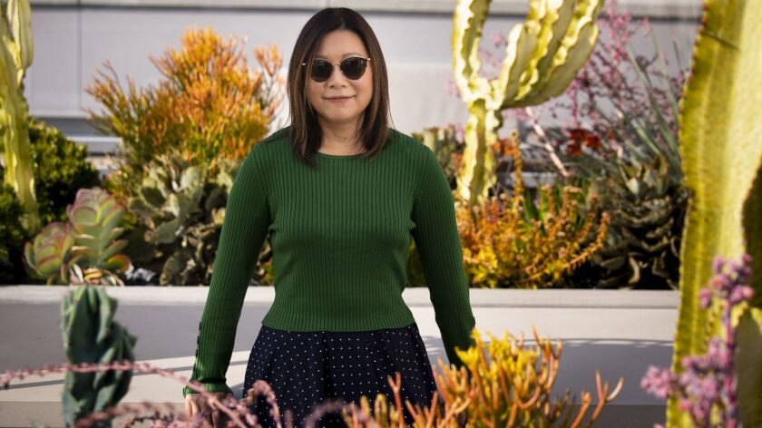 """LOS ANGELES, CA --OCTOBER 25, 2018 -- Sandi Tan, writer, producer and director of the documentary """"S"""