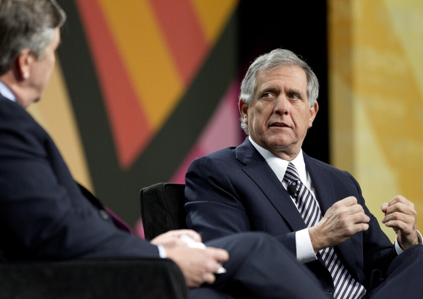 CBS Corp., led by Chief Executive Leslie Moonves, above, grew third-quarter revenue by 2% to $3.4 billion during the third quarter.