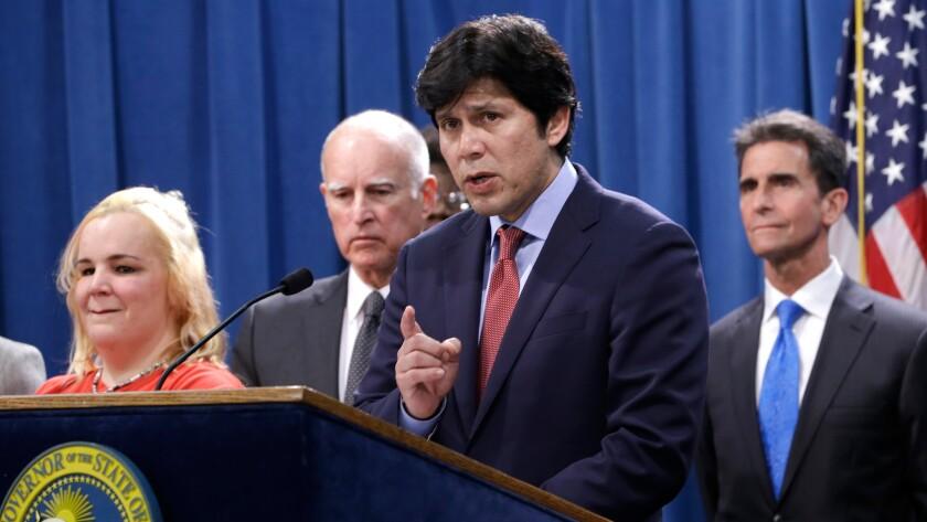 State Sen. Kevin de León (D-Los Angeles) has helped spearhead a new retirement savings program.