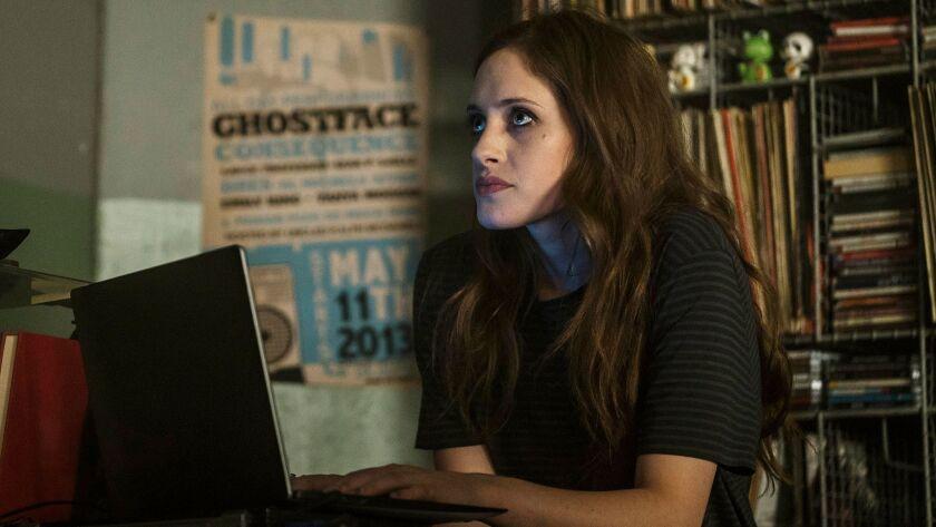 """Carly Chaikin as Darlene in """"Mr. Robot."""""""