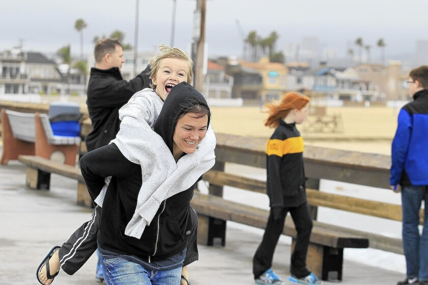 Newport-Mesa weathers first day of storm