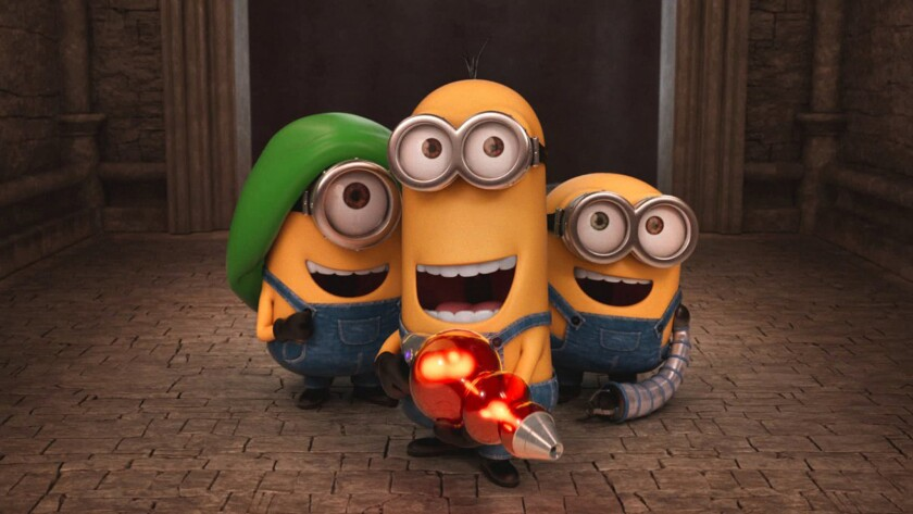 """Minions"" didn't even need Gru (who turns up at the film's end) to make $1.2 billion worldwide."