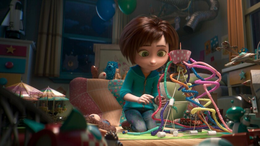 """June is an imaginative child voiced by Brianna Denski in the animated film """"Wonder Park."""""""
