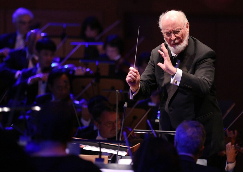 Oscar-winning composer John Williams will be saluted in a virtual concert presented by Pacific Symphony.