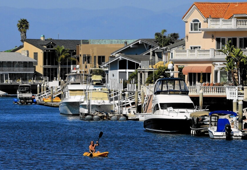 A dredging project will deepen some channels in Huntington Harbour.