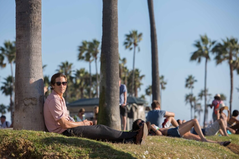 """A scene from """"Nightcrawler,"""" which was filmed in Los Angeles, received a California film tax credit in 2014."""