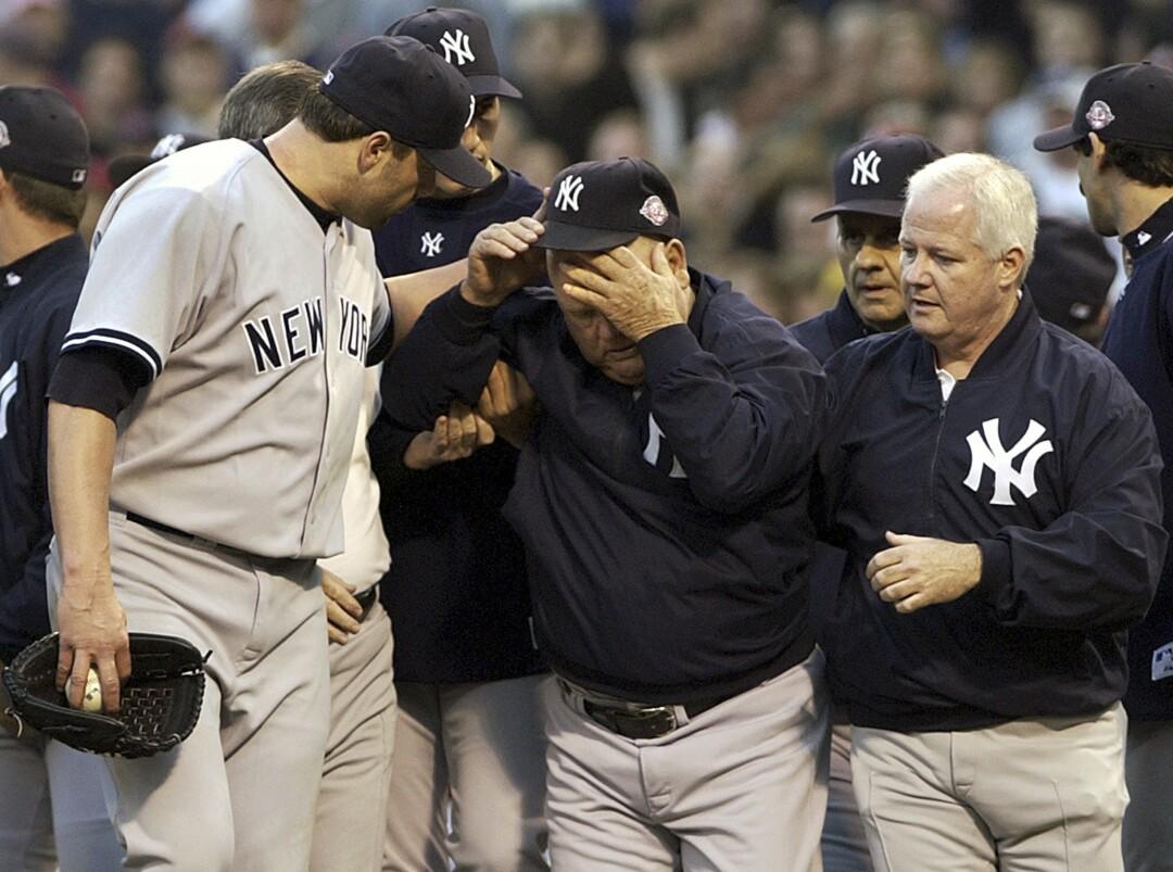 New York Yankees' Roger Clemens