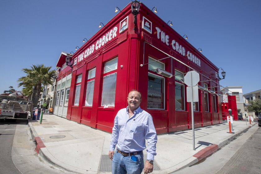 Jim Wasko is the owner of the Crab Cooker in Newport Beach.