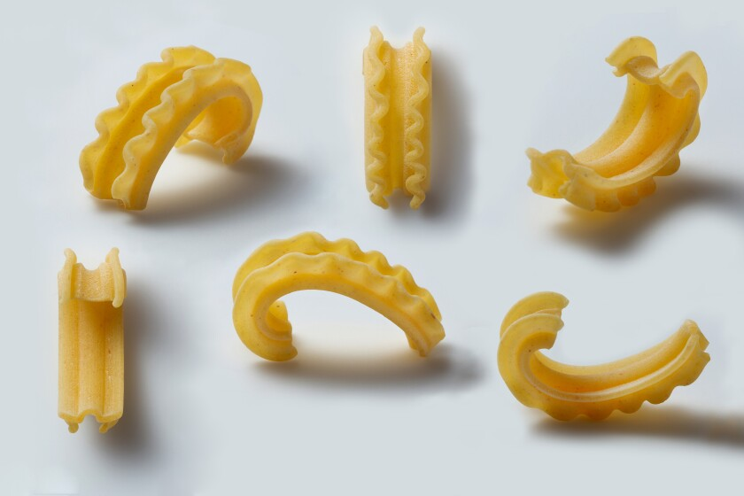 Behold a new pasta shape, created by Dan Pashman.