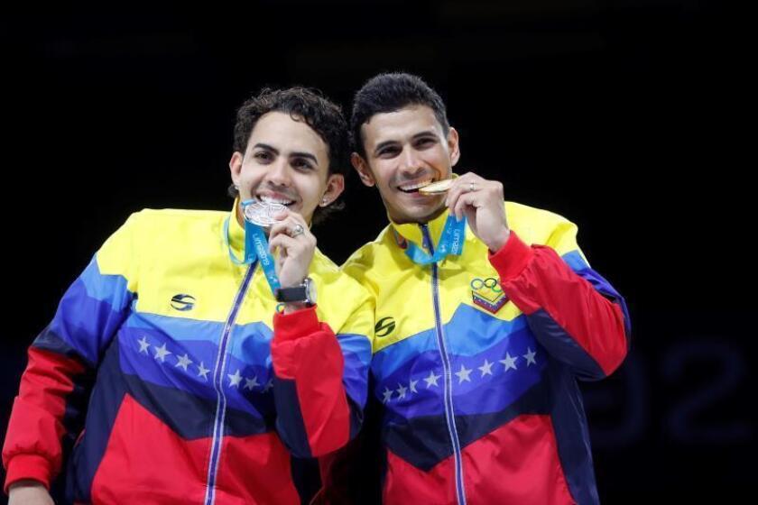 Esgrima en tiempo de crisis, la fuerza mental del equipo venezolano