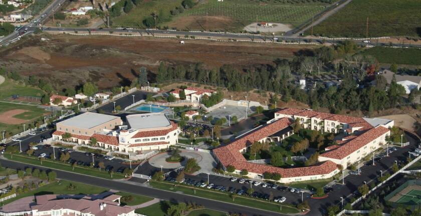 St. Jeanne High School in Temecula is starting to build up its sports program.