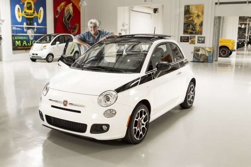 From Jay Leno's garage: Leno to auction his special-edition Fiat 500