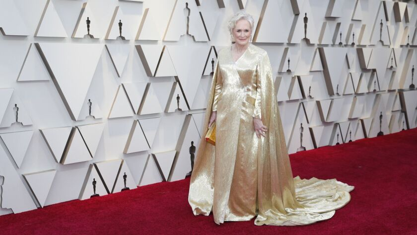 HOLLYWOOD, ?CA ? February 24, 2019 Glenn Close during the arrivals at the 91st Academy Awards on Su