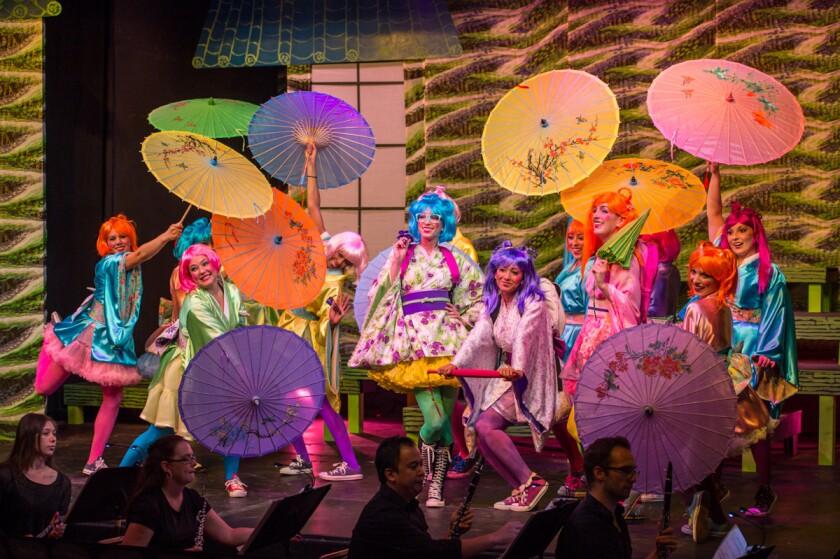 """Pacific Opera Project's """"The Mikado"""""""