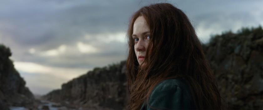 """Hera Hilmar en una escena de """"Mortal Engines"""", que se encuentra ya en cartelera."""