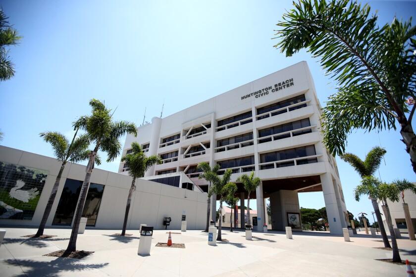 The Huntington Beach Civic Center