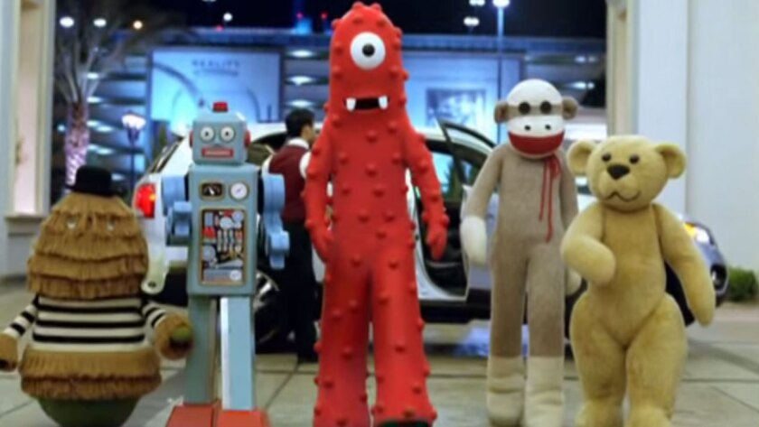 """Characters from """"Yo Gabba Gabba"""" appeared in a Kia commercial aired during the Super Bowl in 2010."""