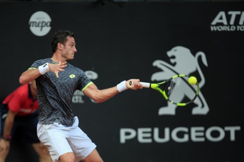 Alessandro Giannessi, tenista italiano. EFE/Archivo