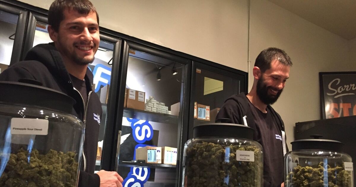 Tiny Oregon Town Puts Hope In Pot Shops To Revive Its Flailing Economy Los Angeles Times