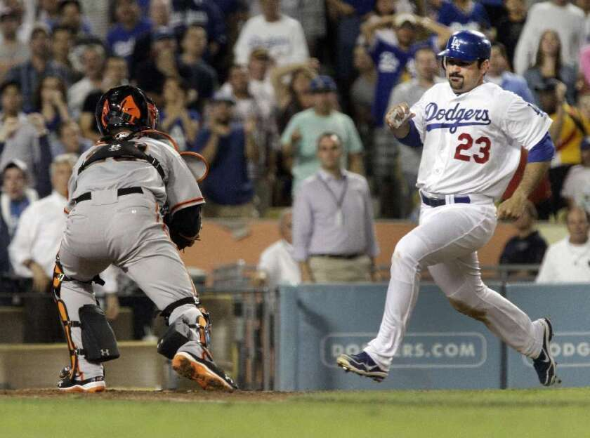 Adrian Gonzalez and the Dodgers will be on Time Warner Cable after next season.