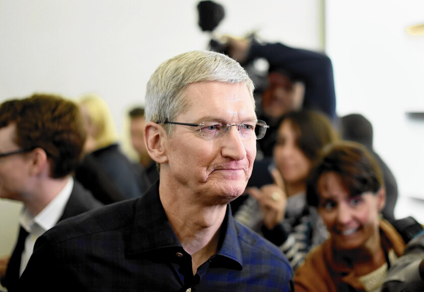 Apple CEO Tim Cook announces he's gay