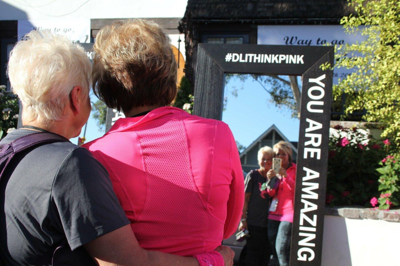 The village of Del Mar showed plenty of pink power and welcomed walkers on the Susan G. Komen 3 Day Walk on Nov. 20.