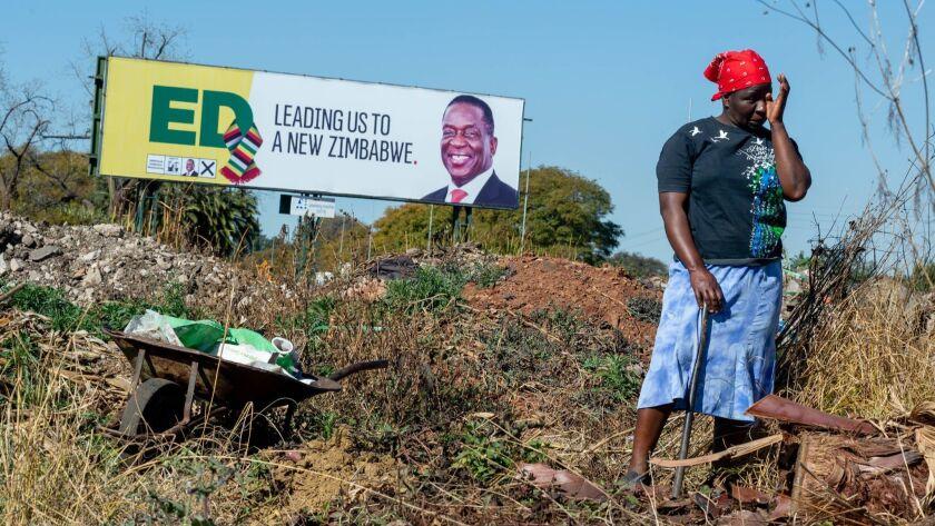 Zimbabwe Election Preparations, Harare - 26 Jul 2018