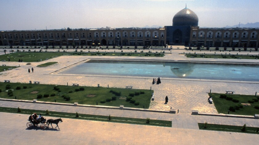 Naqsh-e Jahan Square, also known as Imam Square, Isfahan