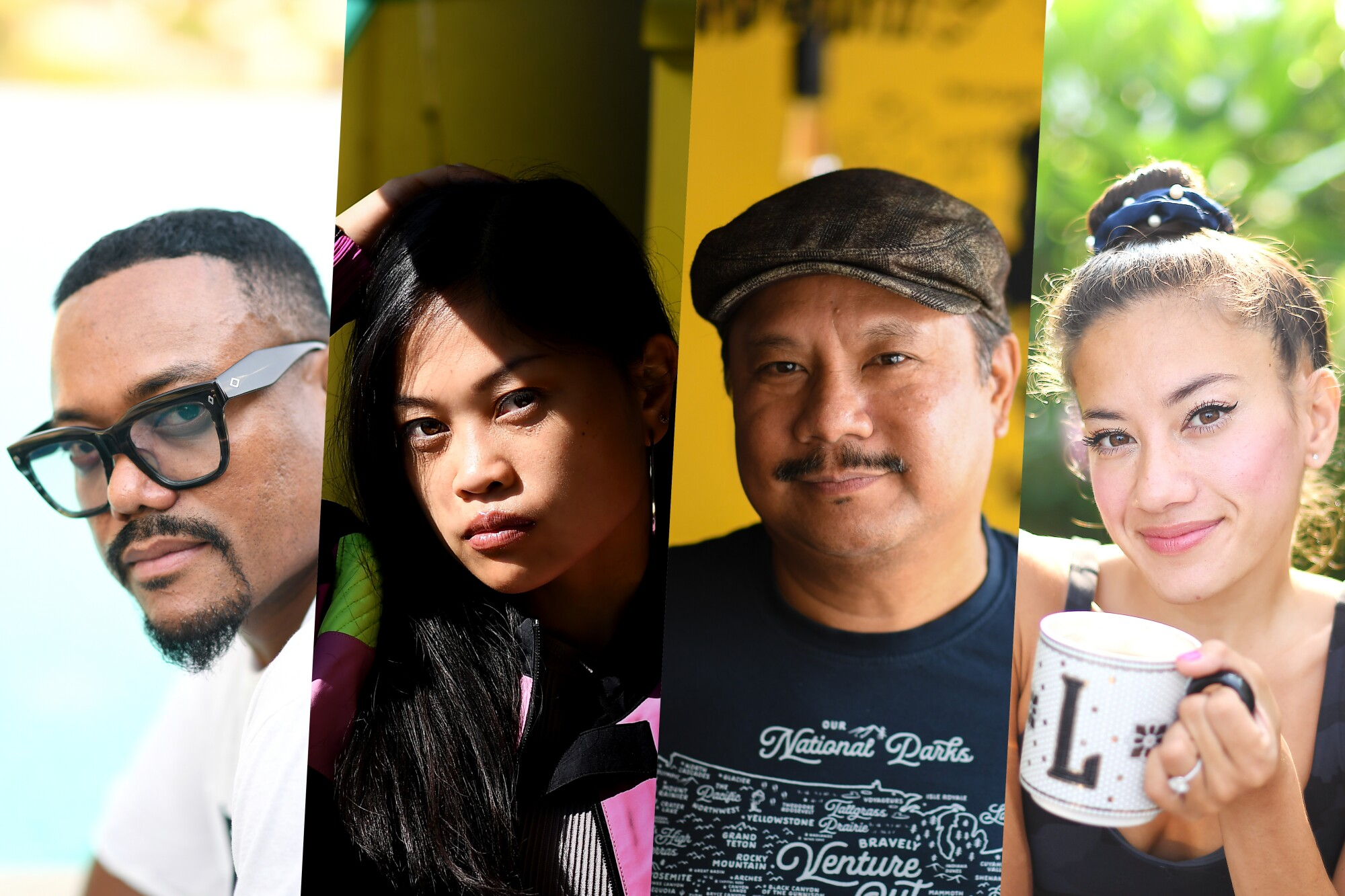 Appearing Aug. 29 for 'A Night of 'Pinoy'tainment,' from left, Apl.de.ap, Ruby Ibarra, Rex Navarette and Lila Hart.