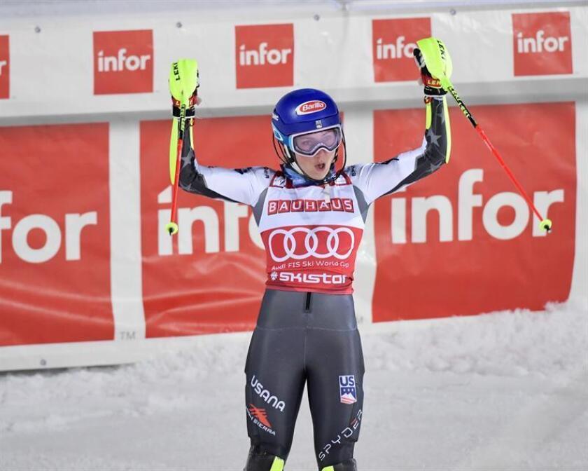 La esquiadora norteamericana Mikaela Shiffrin. EFE/Archivo