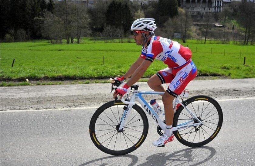 El ciclista español Joaquim 'Purito' Rodríguez del Katusha. EFE/Archivo