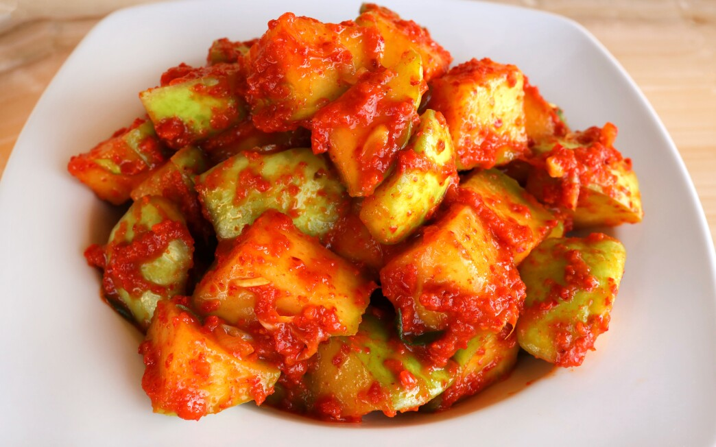 Chayote kimchi