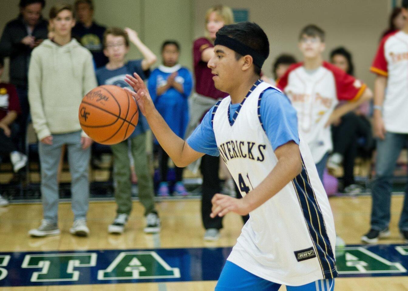 High School District Adapted PE Basketball Tournament