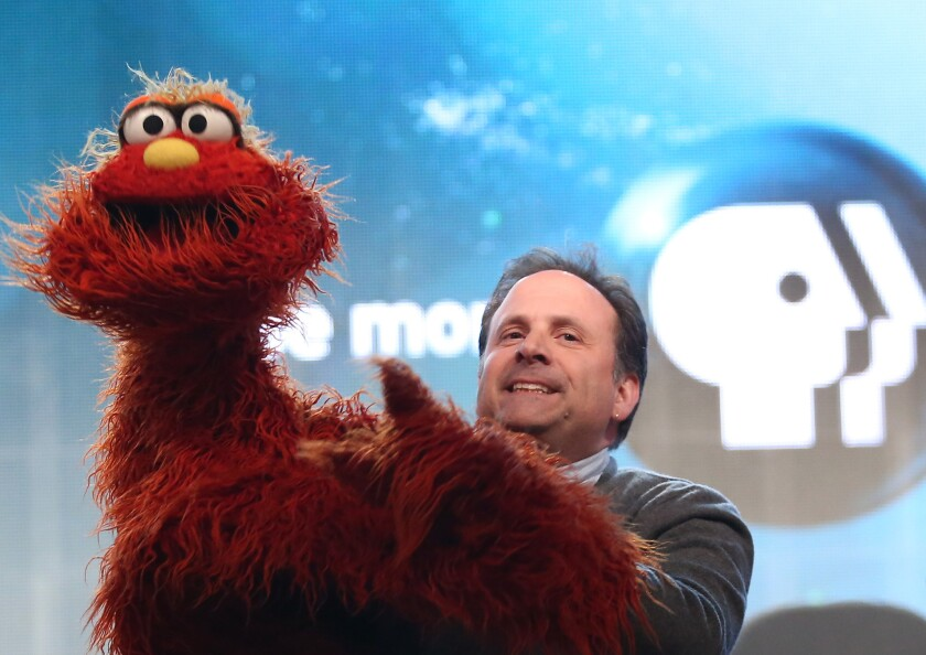 "Puppeteer Joey Mazzarino and the rest of the gang on ""Sesame Street"" have reason to cheer the nominations."