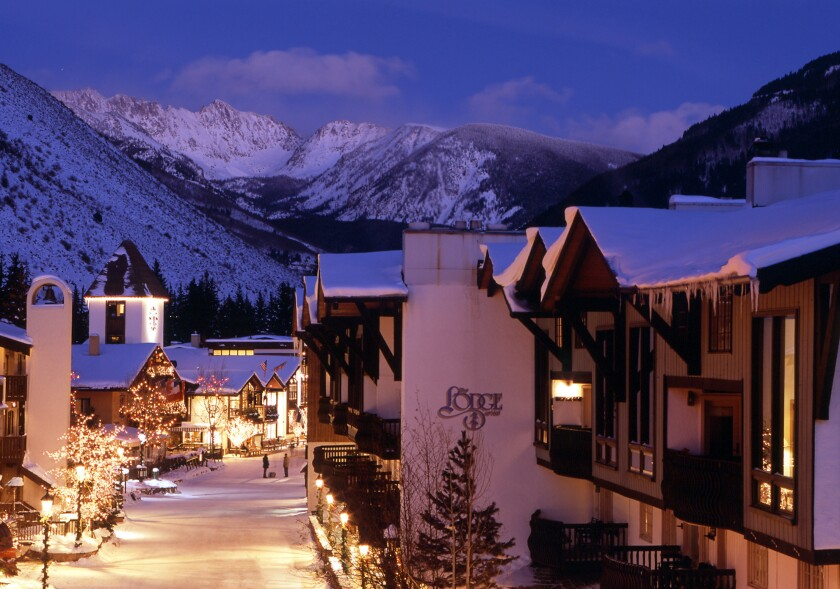The historic Lodge at Vail is offering 40% off room rates for bookings made Nov. 25-Dec. 1.