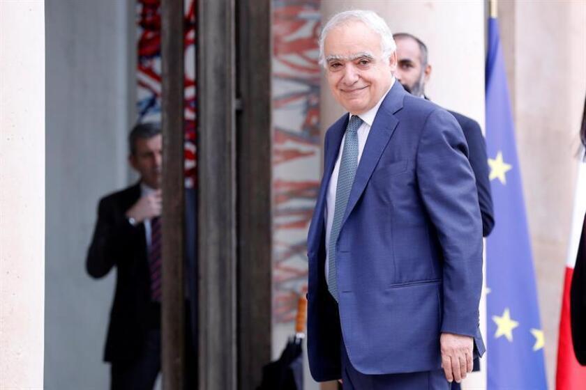 El enviado de Naciones Unidas para Libia, Ghassan Salamé. EFE/Archivo