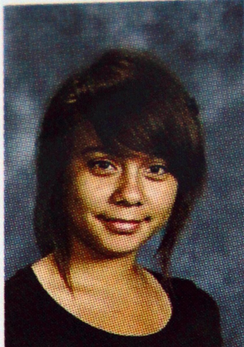 Rancho Del Rey middle school student Anjelica Alvarez was identified by friends as one of the three people were killed in an apartment on Currant Way in Chula Vista on Tuesday, June 1, 2011.