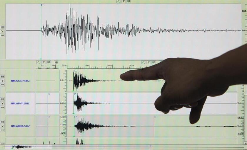 El Sistema de Alertas de Tsunami de canceló hoy la alerta que previamente había lanzado de un posible maremoto en Alaska, tras un sismo en la zona de magnitud de 7.0 grados. EFE/Archivo