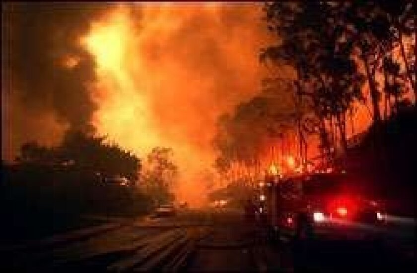 Firestorm 2003: The story of a catastrophe - The San Diego