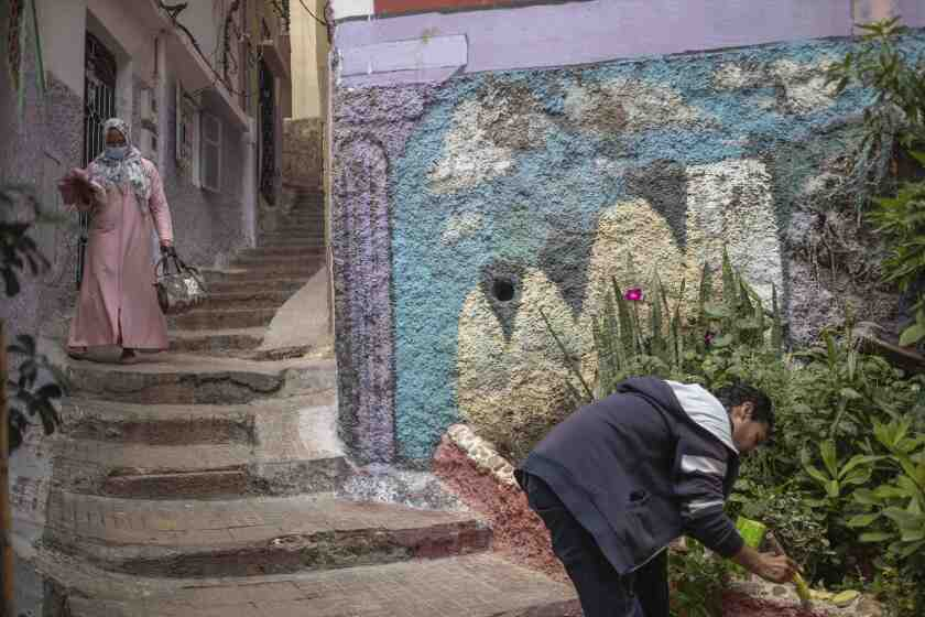 Virus Outbreak One Good Thing Morocco Helpers